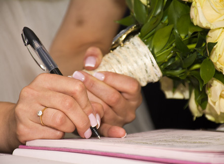 Booking your legal ceremony