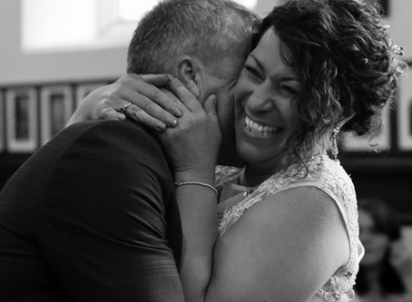 Real life wedding: Chris and Lisa