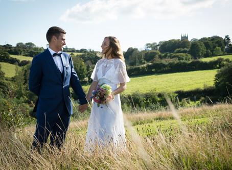 Real life wedding: Jake and Kathy