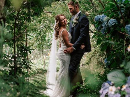 Real life wedding: Kayleigh and Sam