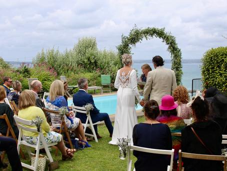 Real life wedding: Martin and Ruth