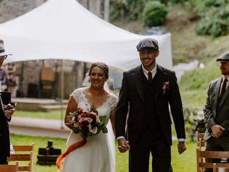Real life wedding: Kate and Joe