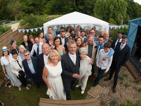 Real life wedding: Malc and Jackie