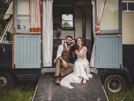 Real life wedding: Tori and Alex