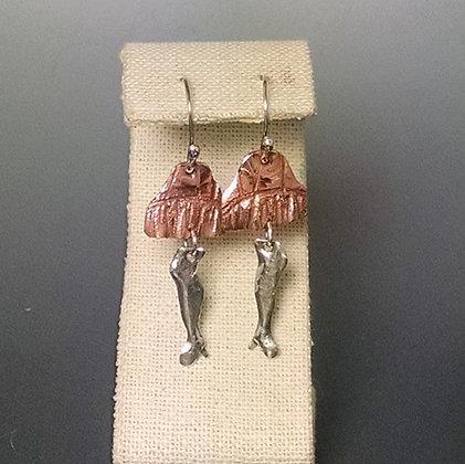 Leg Lamp Earrings