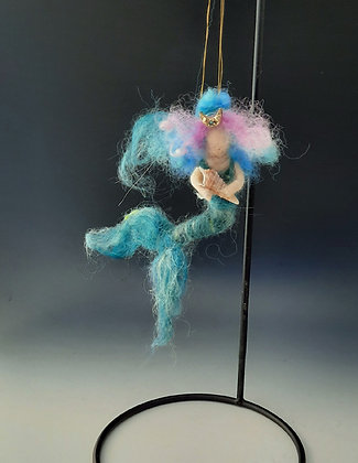 "Mermaid of the Gulf Coast Ornament ""Kathy"""