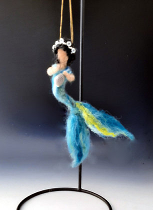 "Mermaid of the Gulf Coast Ornament ""Becky"""