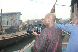 Shooting at Makoko, one of the most deprived parts of Lagos in Nigeria