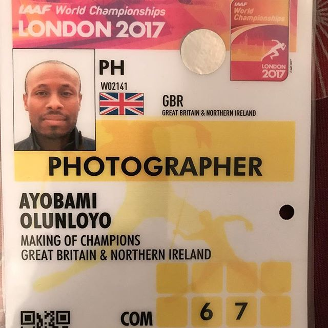 PaV at #IAAF World Championships London 2017. First major task complete.jpg