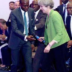 Production Managing visit of Prime Minister Theresa May