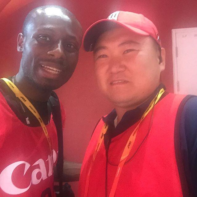 With Song Tao, the man at the heart of the Usain Bolt Segway incident.jpg