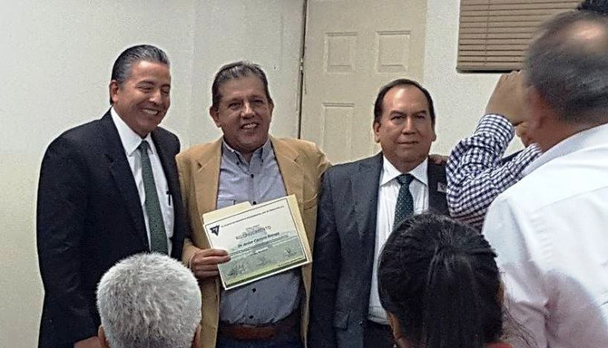 FGH Latin America chief Consultant receives recognition from Mexican Authorities