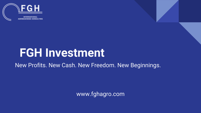 FGH Investments, FGH's International Consulting new strategy to finance Agribusiness projects