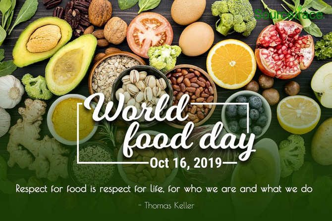 Happy Food day, we work hard to give you the best!