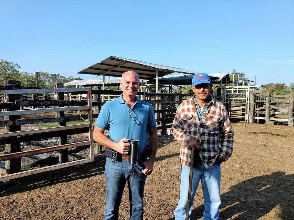 Happy ranchers, Victoria TX.