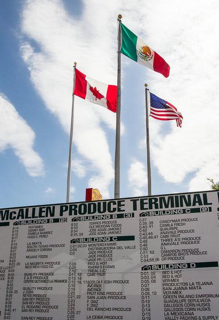McAllen Texas, produce terminal.