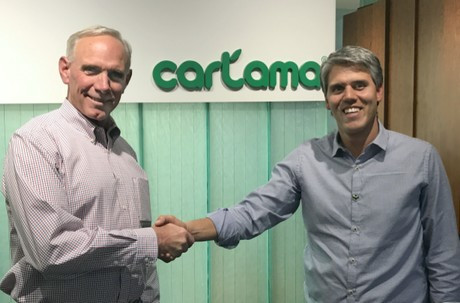 Steve Barnard, President/CEO of Mission Produce, and Ricardo Uribe, CEO of Cartama