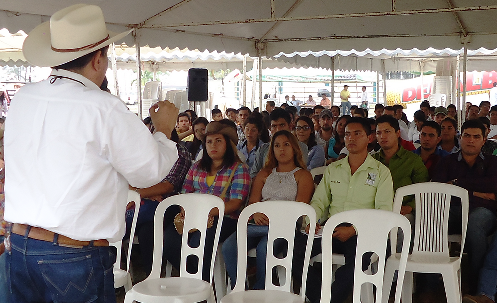 FGH Latin America Director, teaching young Ag students in Mexico