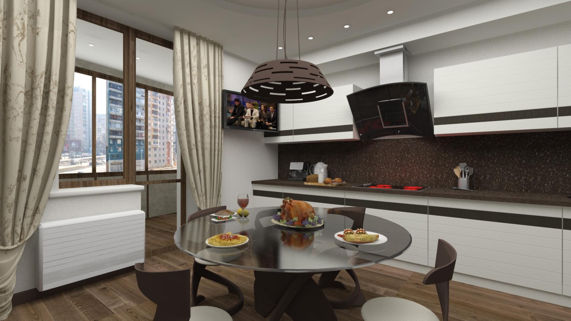 Четырехкомнатная квартира 147 кв.м.