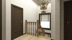 Дизайн текстиля холла 2 этажа