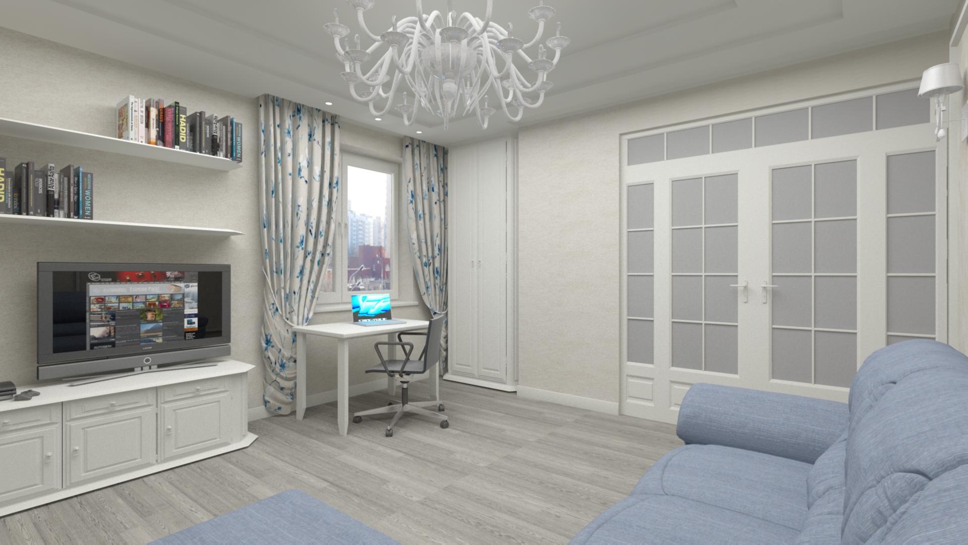 Дизайн детской комнаты, гостиной