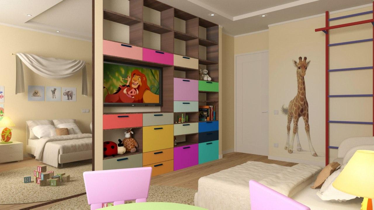 Трехкомнатная квартира 118 кв.м.