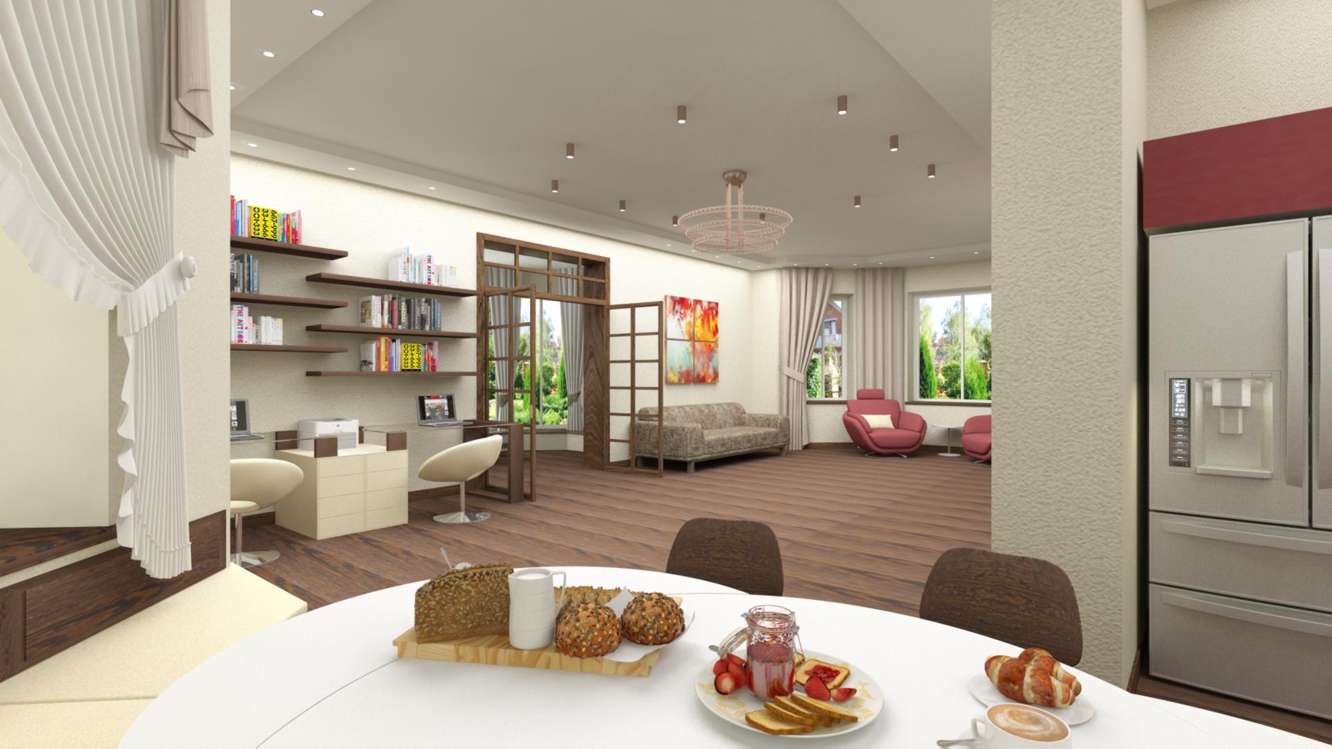 Двухэтажный коттедж   185 кв.м.
