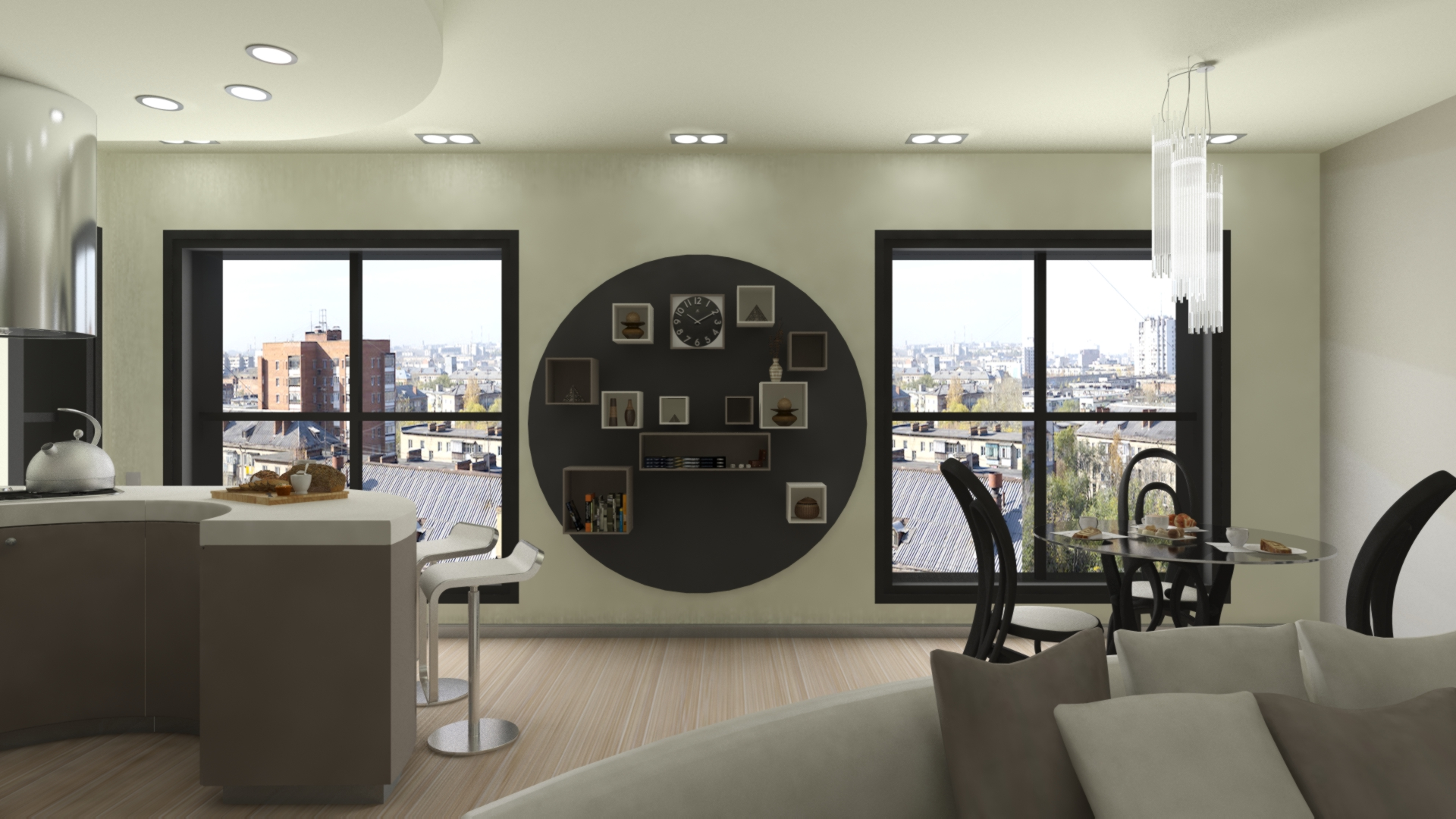Дизайн кухни, дизайн комнаты