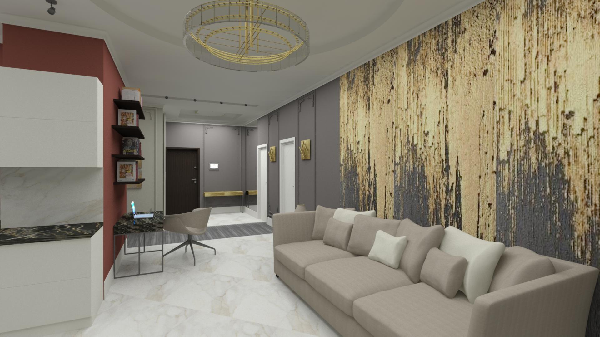 Трехкомнатная квартира 115 кв.м.