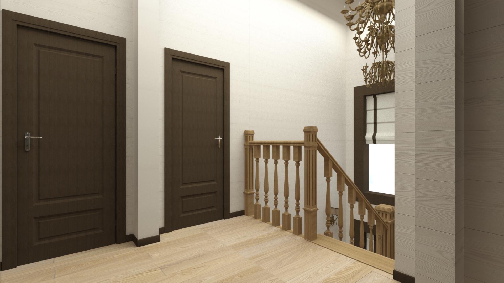 Дизайн холла 2 этажа