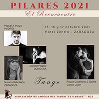 Logo de Pilares (El Reencuentro) que se celebrarà en Zaragoza del 5 al 7 de Noviembre.