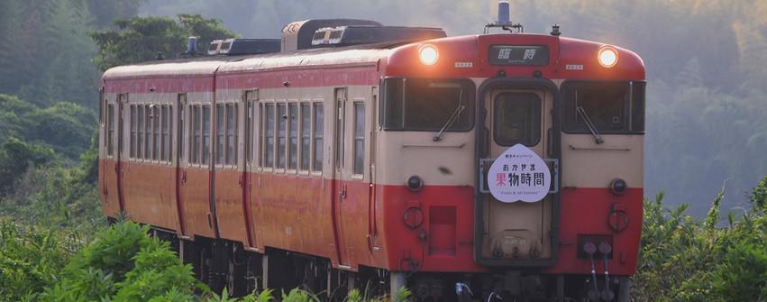 手立隧道に向け登る列車 岡本さん