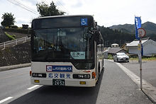 鉄道代行バス