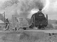 津山線蒸気機関車