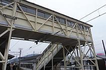 関ケ原 跨線橋