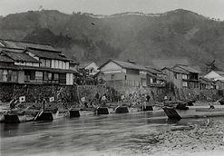 旭川の高瀬舟