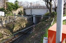 玉川 跨線水路橋 近影