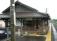 誕生寺駅舎