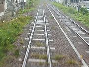 姫新線との並走区間