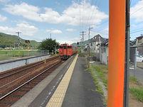 玉柏駅入線