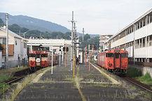 法界院列車交換