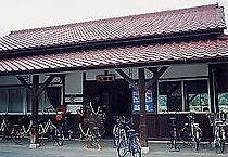 津山線玉柏駅旧駅舎