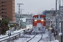 DE10津山発車