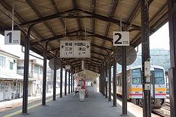 新見駅ホーム