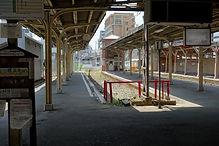 えびす町駅旧駅舎から新駅舎