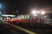 列車交換 金川