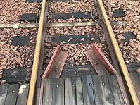 列車の通らないレール