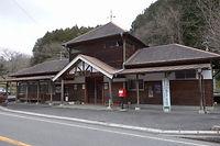 富原駅舎 外観