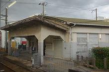 ノスタルジックな駅舎