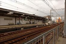 汐見橋線ホーム